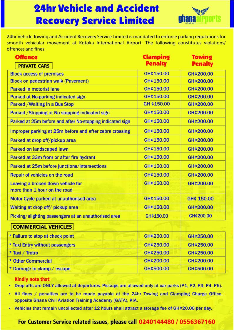GACL Parking Violations